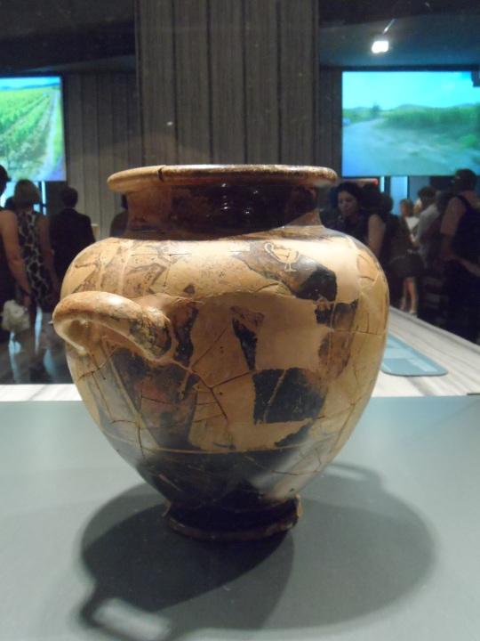 reperto etrusco presso Rocca di Frassinello