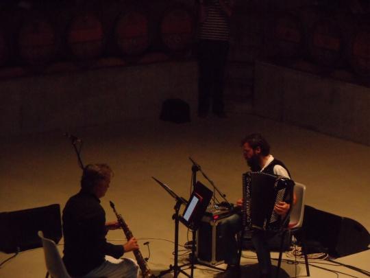 stefano cocco cantini e simone zanchini Jazz presso Rocca di Frassinello