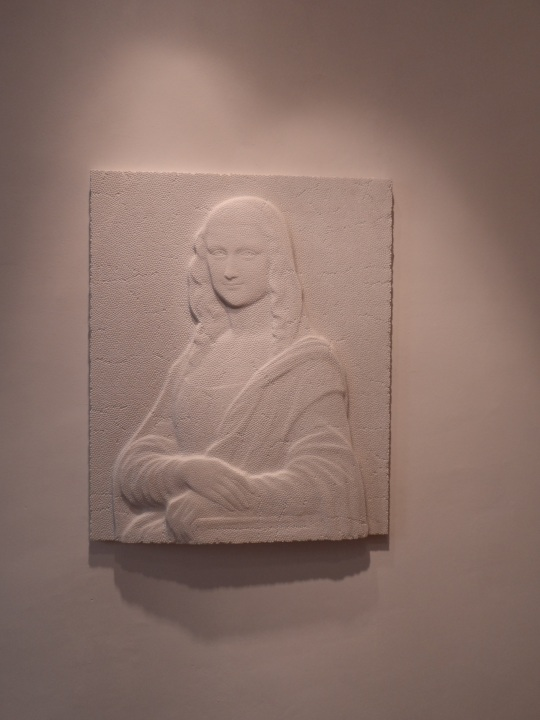 Gioconda ( low relief /bassorilievo ) di Fabio Viale
