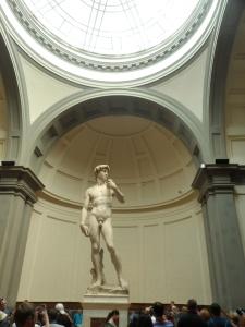 David di Michelangelo panoramica
