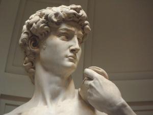 David di Michelangelo particolare