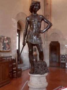 il David bronzeo del Verrocchio