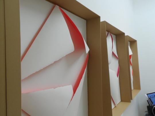 Alfredo Pirri,lavoro su carta