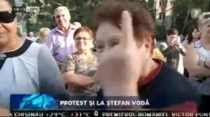 protest și la Stefan Voda, MOLDAVIA. În mici noastră, dar noi protesta!