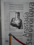 Anastasia Starovoitova Aнастасия Cтаровойтова,l'artista russa di turno presso la Fondazione ARKAD