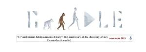 'lucy' by GOOGLE novembre 2015; Google e l'evoluzione della specie umana. Ricorda tanto l'evoluzione sostenuta dal famoso Mc...