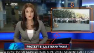 protest și la Stefan Voda ; MOLDAVIA. În mici noastră, dar noi protesta!