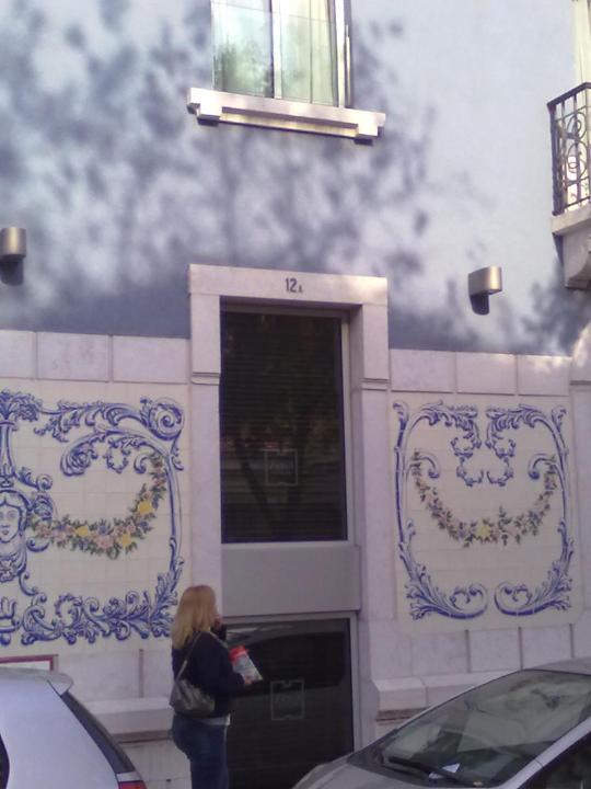 AZULEJOS  a decoro  di Lisbona.