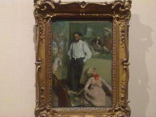 E. Degas; per Sua stessa affermazione un pittore non 'istintivo' ma che guadagnò la Sua arte centimetro per centimetro.