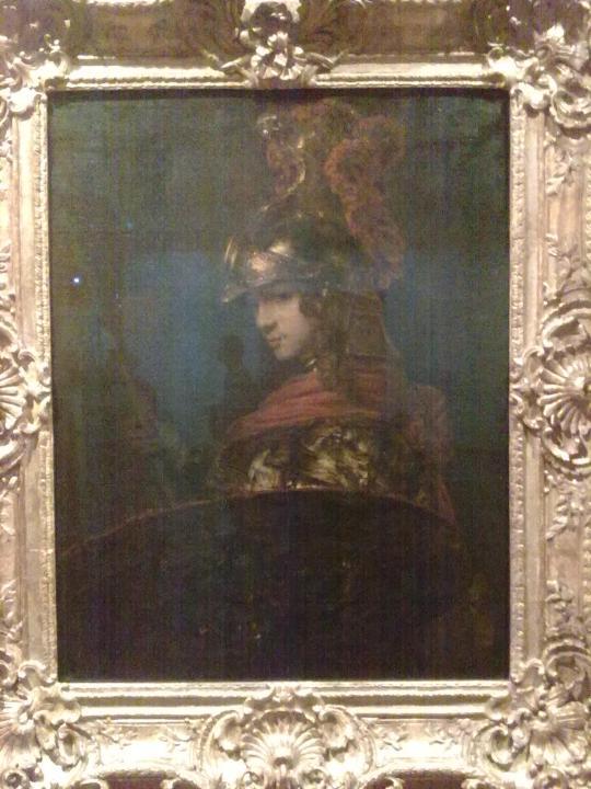 H Rembrandt ; Atena