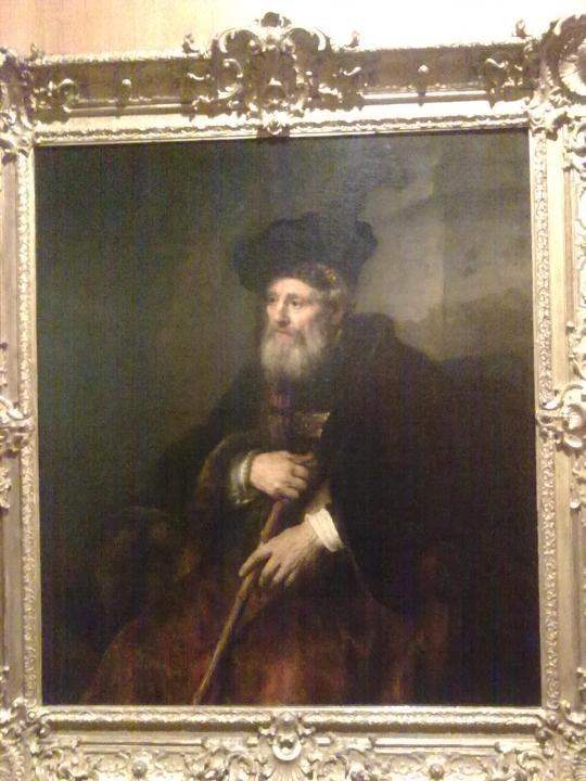 H Rembrandt; ritratto di un vecchio signore