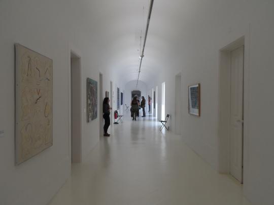 Interno del Museu Nacional de Arte Contemporânea do Chiado MNAC  Lisbon