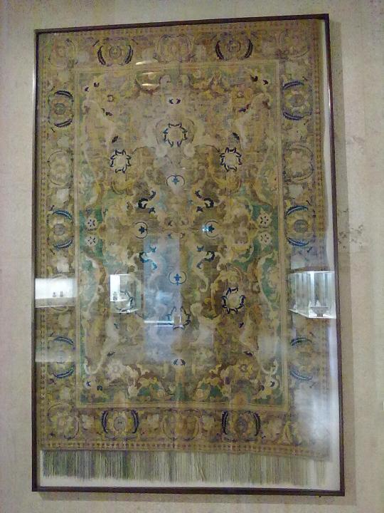 Gli 'isfahan' persiani; di pregio allora come oggi.