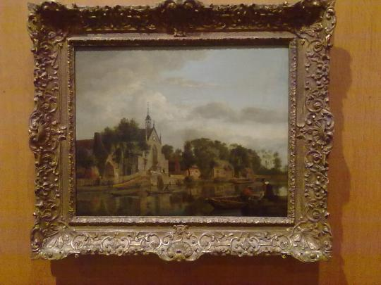Jan Heyden , paesaggio. Un altro olandese di pregio