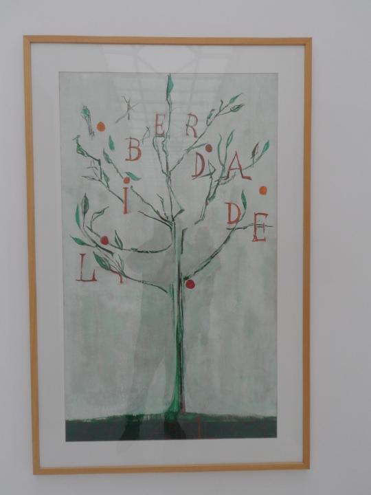 Maria Viera Da Silva Opera Liberdada  Museu Nacional de Arte Contemporânea do Chiado MNAC
