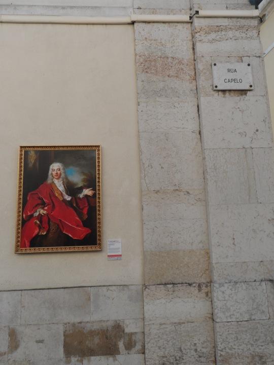 Museu Nacional de Arte Contemporânea do Chiado MNAC  Lisbon. Attuale collocazione;  nella centralissima Rua Capelo.