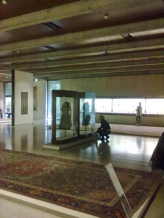 Museu Calouste Gulbenkian ; scorcio d'interno