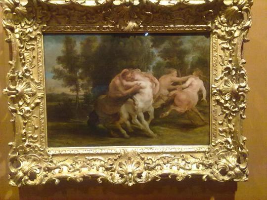 P P Rubens ,mitologia