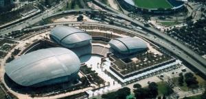 'gli scarabei';  alias il Parco della Musica ,Auditorium di Roma, di Renzo Piano (2002)...