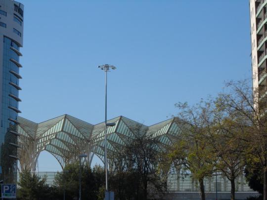 Stazione Oriente  'Gare do Oriente' di Santiago Calatrava Parque das Nações - Parco delle Nazioni Lisbon