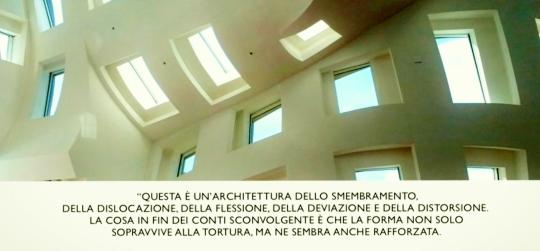 decostruttivismo MOMA di Ny 1988 parole di presentazione .