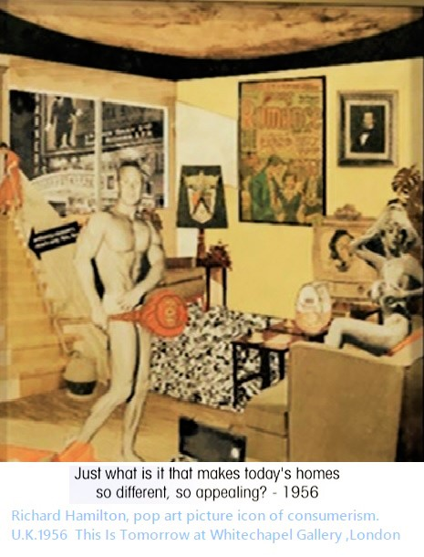 Richard Hamilton pop art icona b