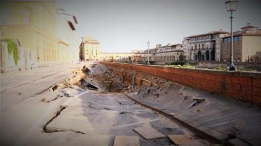 voragine a Firenze 24 maggio 2016
