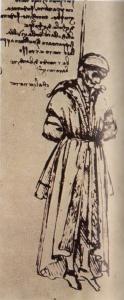 Disegno di Leonardo di Bernardo di Bandino Baroncelli