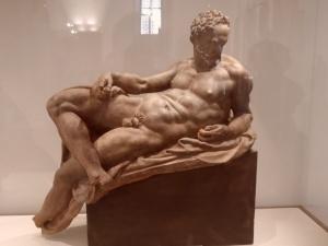 Il crepuscolo  di Niccolò Pericoli detto il Tribolo. Museo del Bargello Firenze.