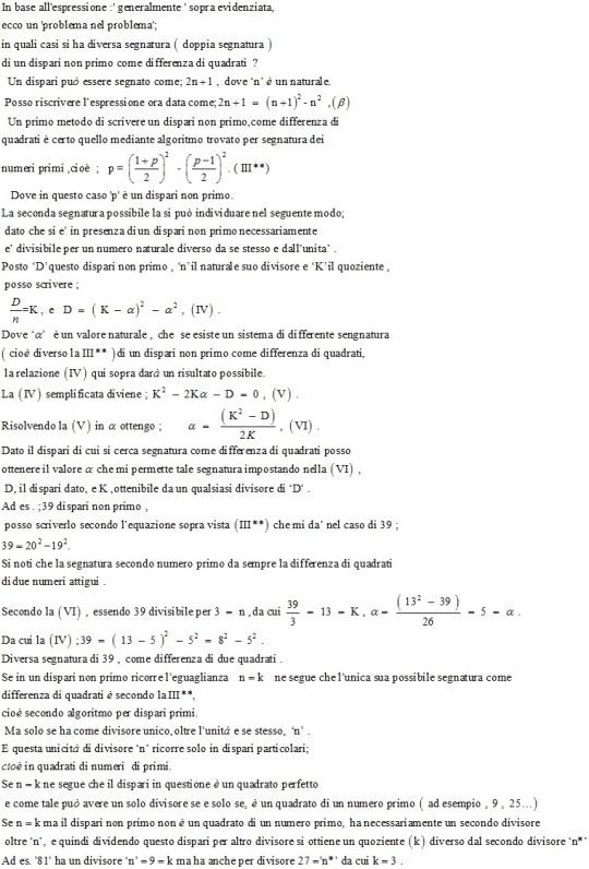 Da un vecchio problema della Scuola Normale di Pisa . (Seconda parte)