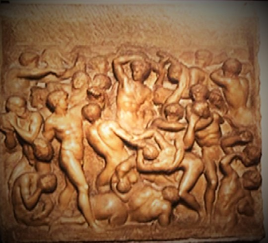 Michelangelo battaglia dei Centauri casa Michelangelo Buonarroti via Ghibellina Firenze