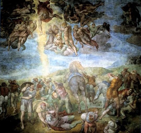 Michelangelo Conversione di S Paolo
