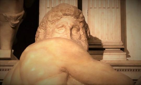 Michelangelo Il giorno. i due maschietti  Entrambi con teste 'non finite' /'unfinished' or 'sketches' ,a differenze delle teste delle due signorine di cui sopra