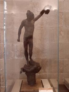 Modello preparatorio       del Perseo di       Benvenuto Cellini        Museo del Bargello               Firenze