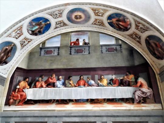 Cenacolo  di Andrea del Sarto  nel Museo ex refettorio presso  la Chiesa di  San Michele a San Salvi              Firenze