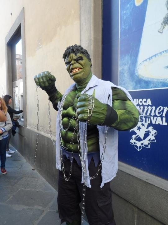 Hulk non può mancare