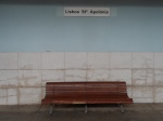 Benches by Lisboa. N.B. ;      ci sono panchine              e...panchine!