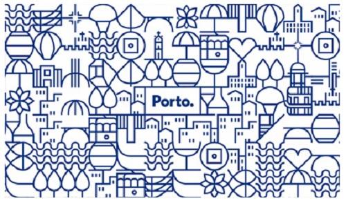 """'Legenda: Um exemplo do grafismo aplicado num painel de """"azulejos"""