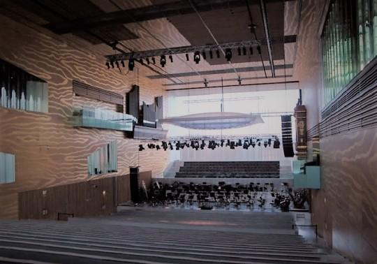 Casa da Música by architetto Rem Koolhaas La sala da musica vera e propria.