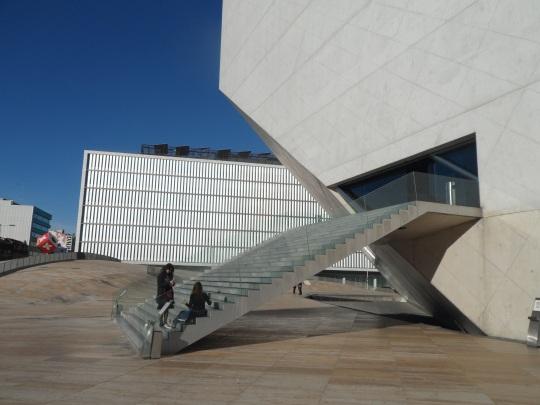 Casa da Música by architetto Rem Koolhaas