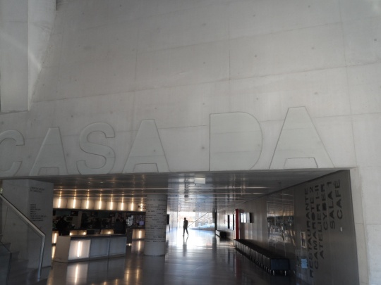 Casa da Música by architetto Rem Koolhaas interno