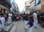 Capoeira Rua de Santa Catarina       Porto , Portogallo        novembre 2016