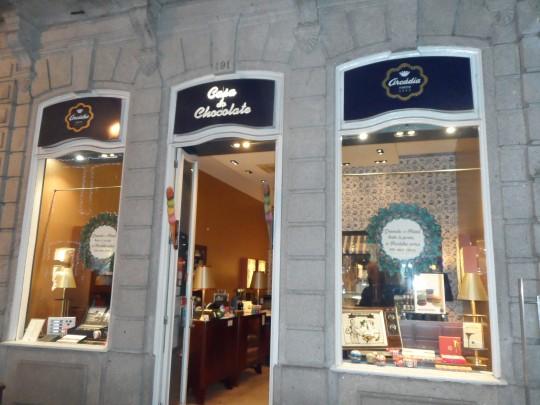 Chocolatier;  Rua de Santa Catarina         Porto Portogallo