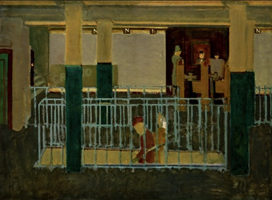 'Entrance to the subway'       di Mark Rothko (vedi didascalia qui sopra)
