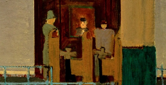 'Entrance to the subway'       di Mark Rothko          Particolare      (vedi didascalia qui sopra)