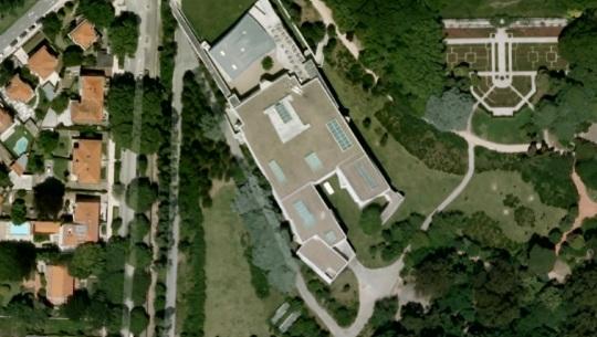 Museo Serralves          visione aerea      by Alvaro Siza      Porto Portogallo