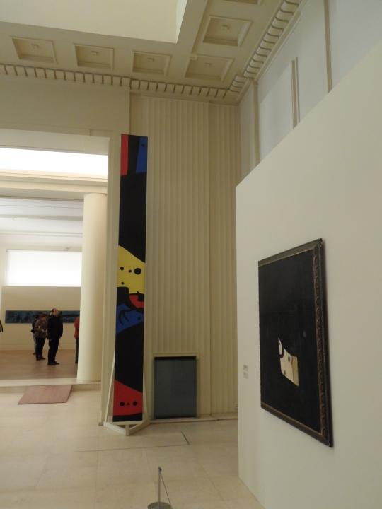Expo Joan Mirò fine 2016 Museu de Casa villa de Serralves Porto Portogallo