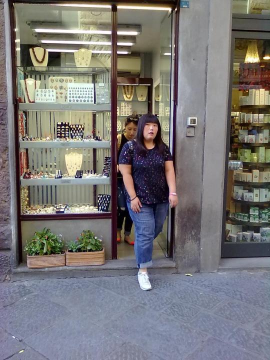 Via dei Calzaiuoli Firenze             .... segue
