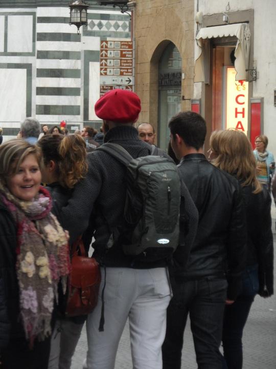 via de' Martelli Firenze Un ricordo nostalgico del 'Che' ?