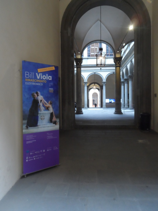 Bill Viola in Florence; l'artista italo americano presto a Firenze; cosa non si fa per pubblicizzare un evento artistico!